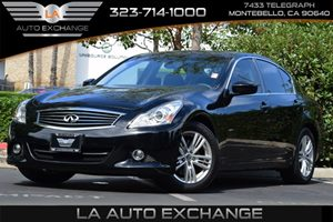 2013 Infiniti G37 Sedan Journey Carfax 1-Owner - No AccidentsDamage Reported 4-Wheel Anti-Lock B