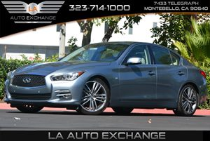 2014 Infiniti Q50 Premium Carfax 1-Owner 5 Person Seating Capacity Audio  AmFm Stereo Body-Co