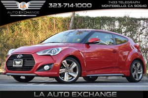 2013 Hyundai Veloster Turbo wBlack Int Carfax 1-Owner - No AccidentsDamage Reported 18 Alloy