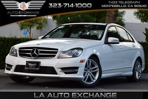 2014 MERCEDES C-Class Luxury Sedan Carfax Report - No AccidentsDamage Reported  Diamond White