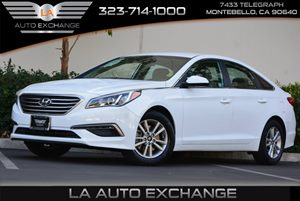 2015 Hyundai Sonata 24L SE Carfax 1-Owner 4 Cylinders 5 Person Seating Capacity Air Conditioni