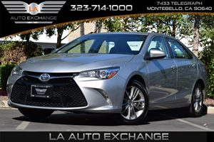 2015 Toyota Camry SE Carfax Report  Celestial Silver Metallic  All advertised prices exclude g
