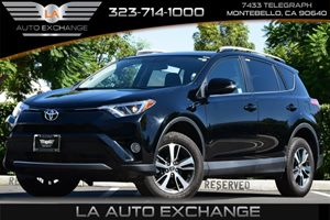 2016 Toyota RAV4 XLE Carfax 1-Owner 2 Seatback Storage Pockets 4 Cylinders 5 Person Seating Cap