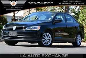 2015 Volkswagen Jetta Sedan 18T SE Carfax 1-Owner  Black  We are not responsible for typograp