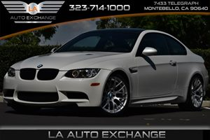 2013 BMW M3  Carfax 1-Owner - No AccidentsDamage Reported 8 Cylinders Adaptive Light Control A