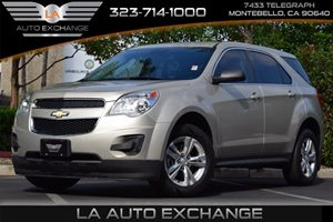 2014 Chevrolet Equinox LS Carfax 1-Owner - No AccidentsDamage Reported  Gold  All advertised