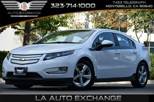 2013 Chevrolet Volt  Carfax 1-Owner - No AccidentsDamage Reported 4 Cylinders Air Conditioning