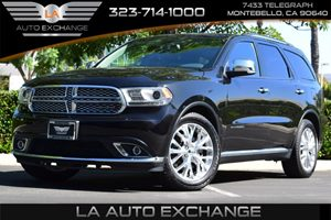 2015 Dodge Durango Citadel Carfax 1-Owner  Maximum Steel Metallic Clearcoat 40812 Per Month