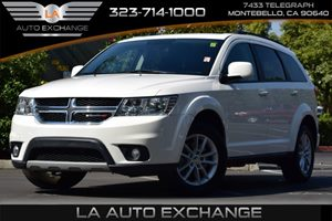 2015 Dodge Journey SXT Carfax 1-Owner  White 22244 Per Month -ON APPROVED CREDIT--- --
