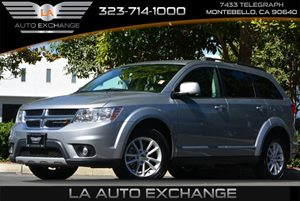 2016 Dodge Journey SXT Carfax 1-Owner - No AccidentsDamage Reported 4 12V Dc Power Outlets 6 Cy