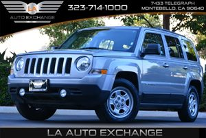 2016 Jeep Patriot Sport Carfax 1-Owner 4 Cylinders Audio  Cd Player Audio  Satellite Radio B
