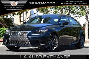 2015 Lexus IS 250  Carfax 1-Owner - No AccidentsDamage Reported  Obsidian 36388 Per Month -