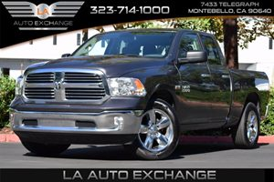 2016 Ram 1500 Big Horn Carfax 1-Owner - No AccidentsDamage Reported Airbag Occupancy Sensor Aut