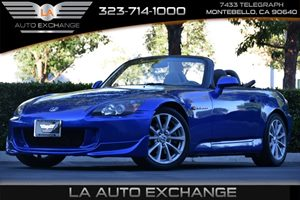2006 Honda S2000  Carfax Report 4 Cylinders Air Conditioning  AC Air Conditioning WAir-Filtr