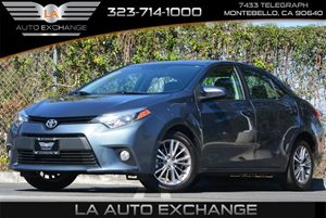 2014 Toyota Corolla L Carfax 1-Owner - No AccidentsDamage Reported 4 Cylinders 5 Person Seating