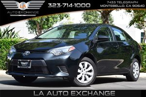 2016 Toyota Corolla LE Carfax 1-Owner - No AccidentsDamage Reported  Black Sand Pearl  All ad