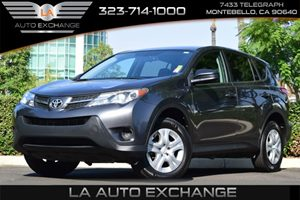 2015 Toyota RAV4 LE Carfax 1-Owner Air Conditioning  AC Cargo Space Lights Chrome Side Window