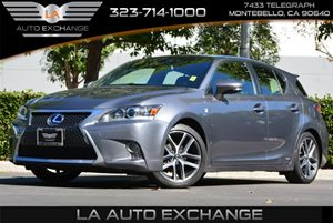 2014 Lexus CT 200h Hybrid F Sport Carfax 1-Owner - No AccidentsDamage Reported 5 Person Seating