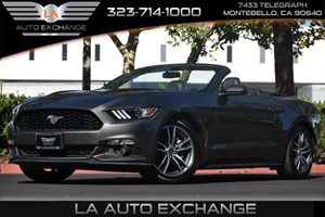 2015 Ford Mustang EcoBoost Premium Carfax 1-Owner 4 Cylinders Air Conditioning  Climate Control
