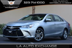 2015 Toyota Camry SE Carfax 1-Owner  Celestial Silver Metallic  All advertised prices exclude
