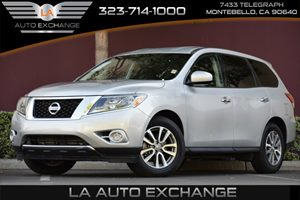 2015 Nissan Pathfinder S Carfax 1-Owner 6 Cylinders Air Conditioning  AC Audio  AmFm Stereo