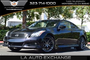 2013 Infiniti G37 Coupe IPL Carfax 1-Owner - No AccidentsDamage Reported  Malbec Black  All a