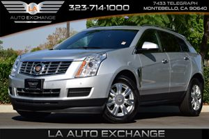 2016 Cadillac SRX Luxury Collection Carfax 1-Owner - No AccidentsDamage Reported  Platinum Ice
