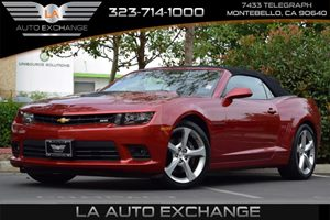 2015 Chevrolet Camaro SS Carfax 1-Owner - No AccidentsDamage Reported Alternator 150 Amps Audi