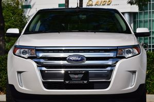 2013 Ford Edge Limited Carfax 1-Owner - No AccidentsDamage Reported  White Platinum Tri-Coat M