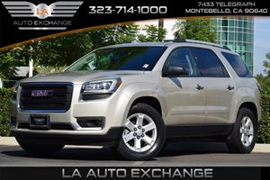 2013 GMC Acadia SLE Carfax 1-Owner  Gold  We are not responsible for typographical errors All
