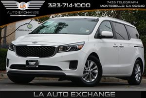 2015 Kia Sedona LX Carfax Report - No AccidentsDamage Reported  Solid White  We are not respo