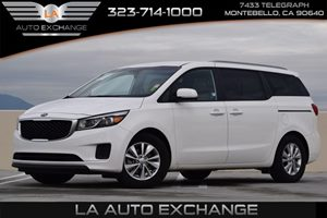 2015 Kia Sedona LX Carfax 1-Owner  Solid White  We are not responsible for typographical error