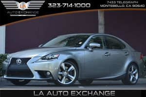 2014 Lexus IS 350  Carfax 1-Owner - No AccidentsDamage Reported 6 Cylinders Air Conditioning