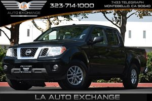 2016 Nissan Frontier SV Carfax 1-Owner 1 Seatback Storage Pocket 3 12V Dc Power Outlets 5 Perso