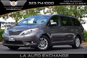 2016 Toyota Sienna XLE Carfax 1-Owner - No AccidentsDamage Reported  Predawn Gray Mica  All a