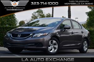 2015 Honda Civic Sedan LX Carfax 1-Owner - No AccidentsDamage Reported Convenience  Security Sy