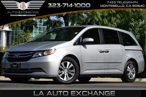 2014 Honda Odyssey EX-L Carfax 1-Owner 4 Seatback Storage Pockets 6 Cylinders 8 Person Seating