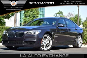 2013 BMW 7 Series 750i Carfax 1-Owner Audio  Premium Sound System Convenience  Keyless Start
