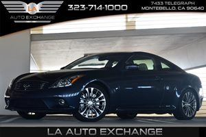 2013 Infiniti G37 Coupe Journey Carfax 1-Owner 6 Cylinders Air Conditioning  AC Audio  AmFm