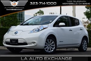 2013 Nissan LEAF S Carfax 1-Owner - No AccidentsDamage Reported  Glacier White  All advertise