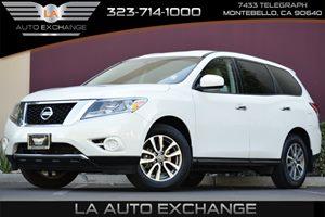 2013 Nissan Pathfinder S Carfax 1-Owner - No AccidentsDamage Reported 2 12V Pwr Outlets 8 C