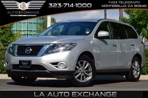 2014 Nissan Pathfinder S Carfax 1-Owner - No AccidentsDamage Reported  Brilliant Silver  All