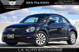 2013 Volkswagen Beetle Coupe 25L Entry Carfax 1-Owner - No AccidentsDamage Reported Anti-Intrus