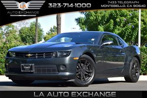 2015 Chevrolet Camaro LS Carfax 1-Owner - No AccidentsDamage Reported  Ashen Gray Metallic  W
