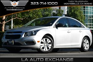 2016 Chevrolet Cruze Limited LS Carfax 1-Owner - No AccidentsDamage Reported 4 Cylinders Air Co