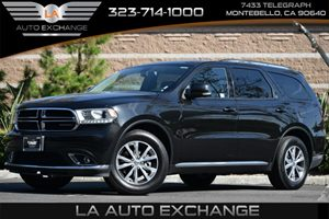 2016 Dodge Durango Limited Carfax 1-Owner 2 Seatback Storage Pockets 6 Cylinders 84 Touchscr
