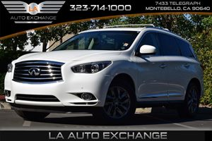 2013 Infiniti JX35  Carfax 1-Owner - No AccidentsDamage Reported  Moonlight White 34492 Per