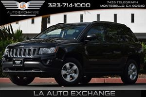 2015 Jeep Compass Sport Carfax 1-Owner 4 Cylinders 60-40 Folding Bench Front Facing Fold Forward