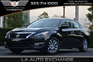 2015 Nissan Altima 25 S Carfax Report  Super Black  Happy Holiday Sale at LA Auto Exchange Gr