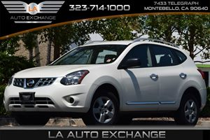 2015 Nissan Rogue Select S Carfax 1-Owner 4 Cylinders 5 Person Seating Capacity Aero-Composite